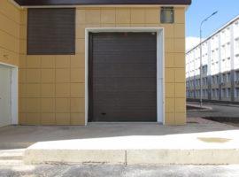 Секционные ворота Алютех