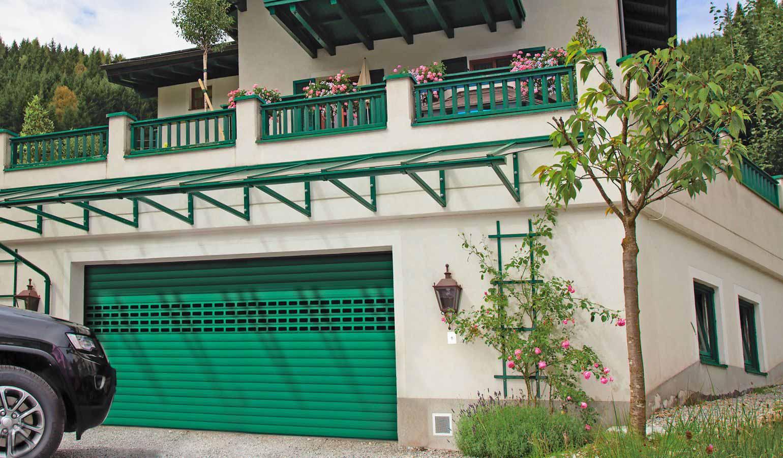 Роллетные гаражные ворота Prestige